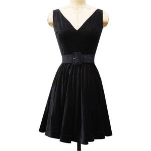 Trashy Diva Velvet Ballerina Dress